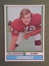 1973 Topps #32 Dan Dierdorf Rookie Card St. Louis Cardinals Nfl - Free Shipping