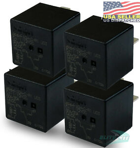 Song Chuan 896H-1CH-C-R1-U03 SPDT 12VDC 50/35A Sealed Relay (Pack of 4)