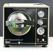 Midmark Ritter M7 Speedclave Sterilizer With 3 Trays Tested