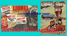 Lionel Model Railways 1950 & 1959 Large Size Posters Shop Display Signs Leaflets