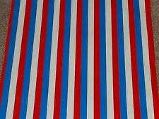 Vtg Store Wrapping Paper Gift Wrap 2 Yards July 4Th Christmas Patriotic Military