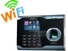 Biometric Fingerprint Attendance Time Clock+ WIFI +TCP/IP +USB, ZKSoftware Brand