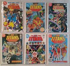 New Teen Titans comic lot (#4-9)  NM-
