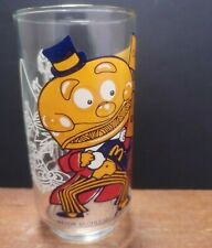 More details for vintage mcdonalds glass 1977 collector action series mayor mccheese mcdonaldland