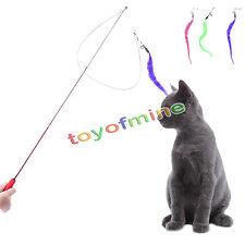 Retrattile Kitten divertente gioco interattivo giocattolo gatto Teaser Pet Stick