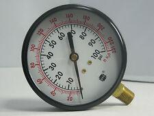 "Pressure Gauge 46775A PA 303A 3 1/2"" 231FT H2O/100 PSI 1/4"" LMC"