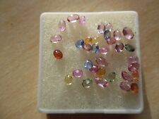 Saffire,mixed colors and shapes with extra pink added to parcel