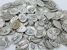 50 x Mixed Catholic Medals Saint Christopher Miraculous Michael Jude Anthony