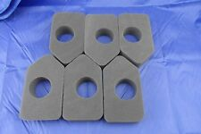 6 PACK Lawn Mower Air Filter Briggs & Stratton 148cc-158cc Replaces OEM 698369