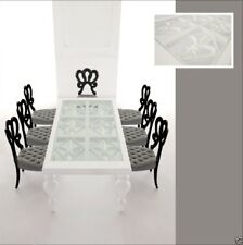 Modern Dining Room Table - Solid Birch Wood - White Dining Table - Florence