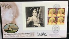 Benham 4.8.2000 Queen Mother Booklet Pane FDC Cinque Ports, Signed CAROLE WATERS