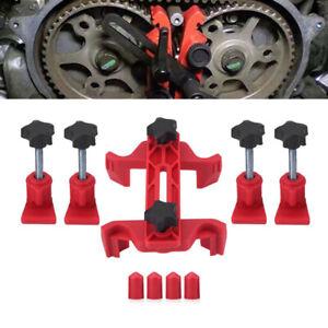 5 X DIY Automobiles Dual Cam Clamp Camshaft Engine Timing Locking Tool Universal