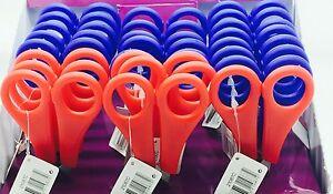 """Kids Childrens School Safety Paper Scissors 5"""" 13cm"""