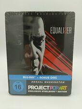 The Equalizer 2 exklusive Popart Steelbook Bluray mit Denzel Washington [Neu]