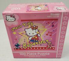 "Sanrio Hello Kitty Superstar Girl Puzzle 100 Pieces 12.5"" x 15"" Rare NEW #10309"