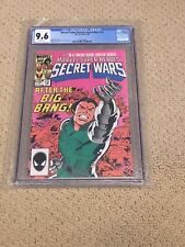 Marvel Super Heroes Secret Wars 12 CGC 9.6 White Pages (Classic Cover!!)