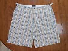 Tasso ELba Golf Men's size 38 Plaid Golfing Shorts - EUC!