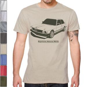 BMW 3 E21 Soft Cotton T-Shirt Multi Colors S-3XL