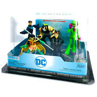 DC Comics Hero World 5 Piece Collectables Bane Catwoman Riddler Robin Nightwing