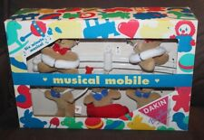 BOXED Dakin Baby Things MUSICAL MOBILE Bears