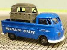 1/87 Brekina # 1821 VW T1 b Pr/Pl Westfalia Werke mit Ladung Fahrerhaus BBF ...