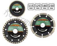 Diamanttrennscheibe Segment Turbo 115, 125, 180, 230mm STHOR