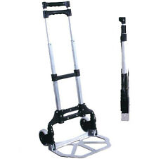 Foldable Aluminum Luggage Cart (110lb Load) 888-036