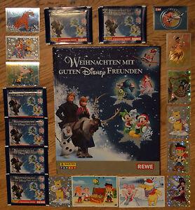 Rewe Weihnachten mit guten Disney Freunden 2/5/10/20/30 - 50 Sticker aussuchen
