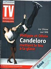 TV MAGAZINE N°21549 16 NOVEMBRE 2013  PHILIPPE CANDELORO/ DAMES DU SPORT