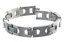 Dolan Bullock Tuscany Steel,Titanium &18K Gold Bracelet