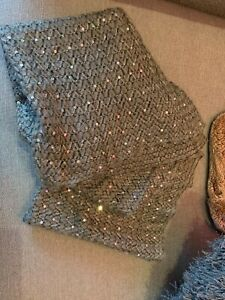 F&F Grey and Sequin Snood