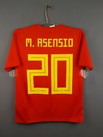 Asensio Spain jersey kids 13-14 years 2018 home shirt BR2713 Adidas ig93