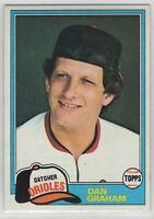 1981 Topps Baseball Baltimore Orioles Team Set