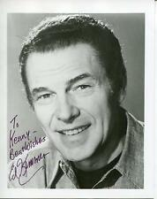 ED EDWARD KEMMER ACTOR / SPACE PATROL & THE TWILIGHT ZONE SIGNED PHOTO AUTOGRAPH