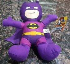 "8"" DC SUPER FRIENDS , Purple BATMAN PLUSH *BRAND NEW* WITH TAG"