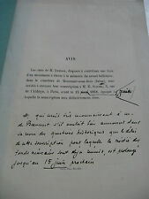 GODEFROY NOTICE SUR DUBNER 1868 ENVOI Signé GAUME PHILOLOGIE GREC GOTHA DIDOT