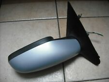RENAULT LAGUNA 2 2001-2005  ELECTRIC HEATED DOOR MIRROR O/S RIGHT SIDE SILVER