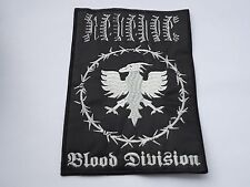REVENGE BLOOD DIVISION EMBROIDERED PATCH
