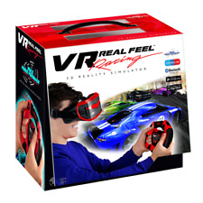 VR Real Feel Virtual Reality Car Racing Gaming System w/ Bluetooth Steering NEW
