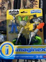 "IMAGINEXT DC SUPER FRIENDS  "" BANE & MOTORCYCLE   (SEALED)"