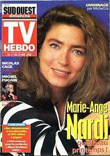 TV HEBDO 1998: MARIE-ANGE NARDI_MICHEL FUGAIN_RENE GOSCINNY_NICOLAS CAGE