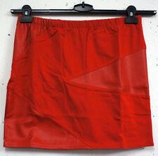 Mini-Damenröcke aus Kunstleder für Party-Anlässe