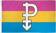 Pansexuality Flag 3x5 ft Symbol Pansexual Pride Omnisexual Lgbt Bisexual Banner