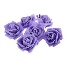 25pcs Multi-Color Foam Head Artificial Rose Flowers Handmade Wedding Home Decor