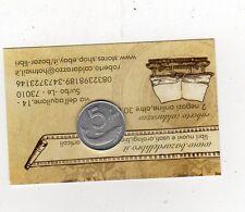 repubblica moneta 5 lire 1990