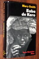 Mary Smith BABA DE KARO Plon Terre Humaine 1983 Afrique Nigeria bio. musulmane
