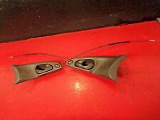 00-04 FORD FOCUS INTERIOR DOOR HANDLE LOCK SWITCH TRIM DRIVER PASSENGER BLACK