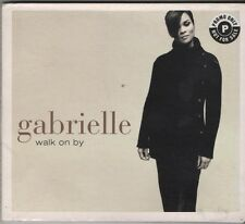 GABRIELLE Walk on By 4 TRACK CD NEW - NOT SEALED   WITH  PROMO STICKER