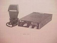 1977 COMMANDO CB RADIO SERVICE SHOP MANUAL MODEL 2310