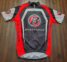 Bontrager Trek Full Zip Cycling Jersey Mens Small Black